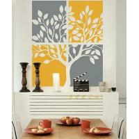Wholesale Personalised Wall Flower Stickers G180 / Wall Sticker Art from china suppliers