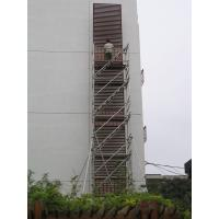 Wholesale Stairway Scaffolding 12M 2kn / ㎡ Tig Welded Joints with 50.8mm * 1.475mm tube from china suppliers