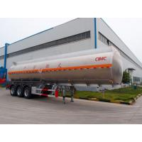 Quality Tri-axle Oil/Fuel aluminum tanker trailer manufacturer for sale for sale