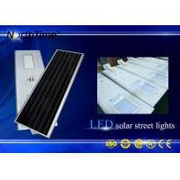 Wholesale 12V 50AH Lithum Battery LED Solar Street Lights 9M Mounting Height from china suppliers
