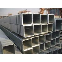 Quality Square ERW Galvanized Welded Steel Water Pipe High-Strength For Ship building for sale