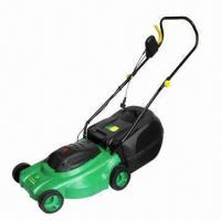 Wholesale Electric Lawn Mower with 1300 to 1600W Power and 38cm Cutting Width from china suppliers