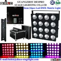 Wholesale Dimming RGB Matrix LED Lighting DMX512 Wedding Stage Strobe Light 220V 50Hz from china suppliers