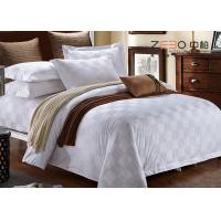 Quality Customized Color Hotel Bedding Collection Sets Satin Square Design for sale