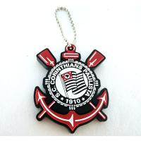cheap price Custom soft pvc rubber personalized keychains with 2d/3d color design China maker