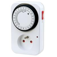 Wholesale 230V 16A Programmable Digital Light Timers , 24 hour Timer switch For hydroponics from china suppliers