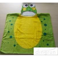 Wholesale Bacteria Resistant Infant Hooded Towels , Kids Swimming Towels With Hoods from china suppliers