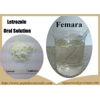 Wholesale Oral Liquid Steroids Femara Letrozole Anti Estrogen Steroid For Breast Cancer from china suppliers