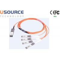 Wholesale 100G ethernet cable splitter 100G AOC Cable QSFP28 to 4x 25G SFP28 from china suppliers