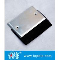Wholesale Flat One - gang Aluminum Stamped Cover , Weatherproof Electrical Outlet Boxes from china suppliers