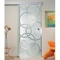 "Wholesale 5/16"" Tempered Sliding Glass Doors With Smooth Surface Safety from china suppliers"