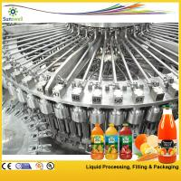 Wholesale High-speed Hot Filling Machine , Raspberry / Strawberry Juice Processing Machine from china suppliers