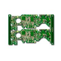 Wholesale Green Solder Mask Multilayer circuit board , 4 Layer PCB fabrication process from china suppliers