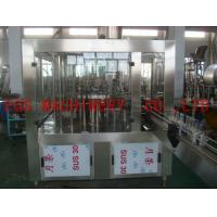 Wholesale 6000BPH whisky Wine Bottle Filling Machine , Glass Bottle 3-In-1 Alcohol Filling Machine from china suppliers