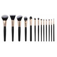 Wholesale 13PCS high end Cosmetic Professional Makeup Brush Set Rose Golden Copper Ferrule from china suppliers