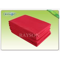 Wholesale Environmental Health Disposable Bed Sheet , Absorbent  Non woven HospitalSheet from china suppliers