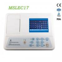 Wholesale 3-lead ECG recorders MSLEC17 / Portable three lead ecg MSLEC17 for sale from china suppliers