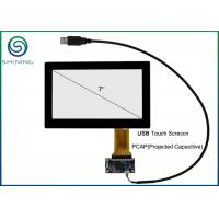Wholesale 7 Inch Capacitive Touch Panel Cover Glass To ITO Glass with USB Interface from china suppliers