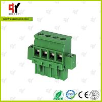 Wholesale Connector Terminal Block Wire Range 28-12 AWG , Plug Terminal Block from china suppliers