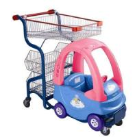 Wholesale Steel Supermarket Shopping Trolley Retail Wheeled Shopping Carts For Kids from china suppliers