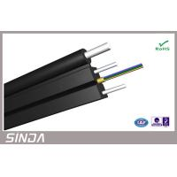 Wholesale 12 Cores self supporting fiber optic cable , Indoor Drop FTTH optic fibre cabling SM / MM from china suppliers