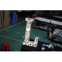 Quality Vintage Large LED Letter Lights For  Outdoor / Indoor Wedding Party Free Standing for sale