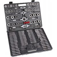 Wholesale 118pcs Carbon Steel / Alloy Steel Metric Tap and Die Sets , Metric Thread Cutting Tool from china suppliers