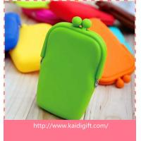 Wholesale Promotion Gifts Silicone Coin Purse handbags for Kids , Waterproof from china suppliers