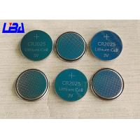 Wholesale Rechargeable Button Cell Battery , 160mAh Maxell Cr2025 Lithium Battery from china suppliers