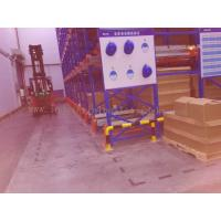 Wholesale 82FT Depth X  39FT Height Radio Shuttle Racking Blue + Orange Warehouse Storage System from china suppliers