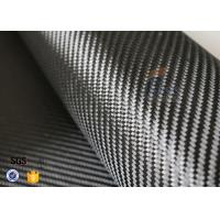 Wholesale 3K 240gsm Carbon Fiber Cloth Twill Weave Decoration Silver Coated Cloth from china suppliers