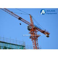 Wholesale Mini Hydraulic Overhead 4t Hammerhead Tower Crane for Building Construction from china suppliers