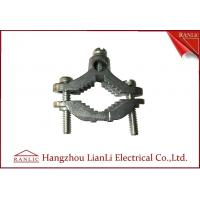 Wholesale Zinc Bare Wre Gound Clamps With Straps Brass Electrical Wiring Accessories from china suppliers