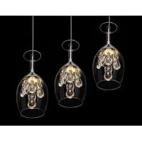 Wholesale 2015 New Crystal Wine glasses Chandelier Ceiling Light Pendant Lamp LED Lighting from china suppliers