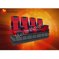 Wholesale Pneumatic / Hydraulic Air Injection Leg Sweep 4D Motion Theater Seats from china suppliers