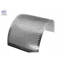 Wholesale Stainless Steel Round Hole Sieves Perforated Metal Sheet Wire Mesh Punching Plate from china suppliers