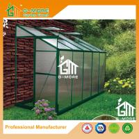 Wholesale 10'x4'x6.7'FT Green Color Single Door Wall Lean-To Series Garden Greenhouse from china suppliers