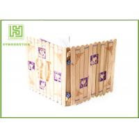Wholesale Wide Natural Wood Sticks 114 * 10 * 2mm Kids DIY Toy Color Well Polished from china suppliers