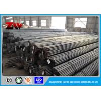 Buy cheap Cement Plant Grinding 60Mn B2 Steel rod for rod mill , Dia 30 mm to 140mm from wholesalers