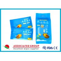 Wholesale Individual Packaging 1pcs* 10 / Bag Baby Wet Wipes Fragrance Free Cotton Like Texture from china suppliers