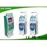 Wholesale 19 Inch Touchscreen Financial Services Kiosk With Cash Acceptor Indoor Application from china suppliers