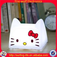Wholesale 2014 new Cute night light.Cat night light manufacture.Save energy cat night light factory from china suppliers