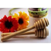 Wholesale Wholesale - Brand New Simple Wooden Honey Dipper Wood stick handle gadget free shipping 14.5x2.6cm from china suppliers