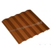 Quality 150 Bastard Cut Ceiling Wood Plastic Composite Material PVC Floor,Fireproofing for sale