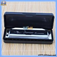 Wholesale Swan Harmonica 10 Holes Key of G Silver-17000630 from china suppliers