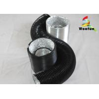 Wholesale Flame Retardant Round Flexible Duct , Composite PVC Aluminum Flexible Vent Hose from china suppliers