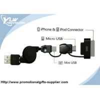 Wholesale 3 in 1 usb Apple Iphone Accessories cable for Ipod, Ipad, Iphone4 from china suppliers
