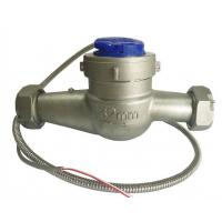 Wholesale DN32mm Stainless Steel 304 Multi Jet Water Meter Dry Dial , Pulse Output Water Meter from china suppliers