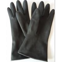 Quality Long rubber Latex Household Gloves in natural rubber for cleaning and kitchen for sale