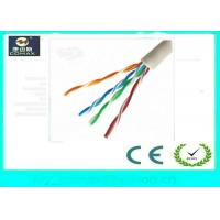 Wholesale 100% Copper Cat5e UTP Network Cable Fluke Pass 4 Pairs PVC Jacket For Indoor from china suppliers